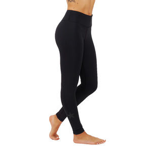 Clear black leggings for workout